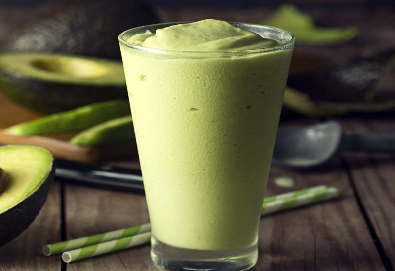 Avocado, Pineapple, and Coconut Smoothie
