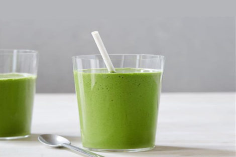 Green Peanut Butter Smoothie Recipe