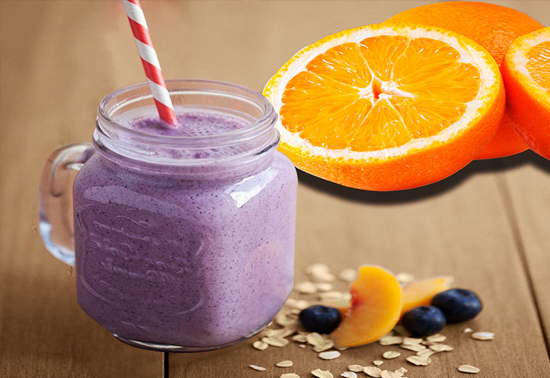 Orange Blueberry Smoothie Recipe