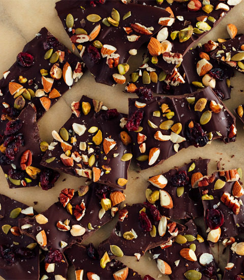 spicy chip chocolate bark